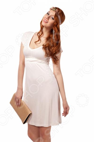 Платье Mondigo 8597. Цвет: молочный