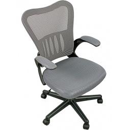фото Кресло офисное College HLC-0658F. Цвет: серый, черный