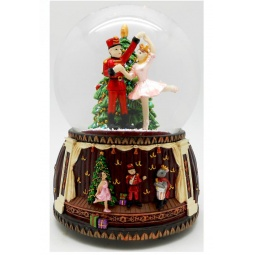 фото Снежный шар музыкальный Star Trading 150321 «Щелкунчик. Танец балерины»