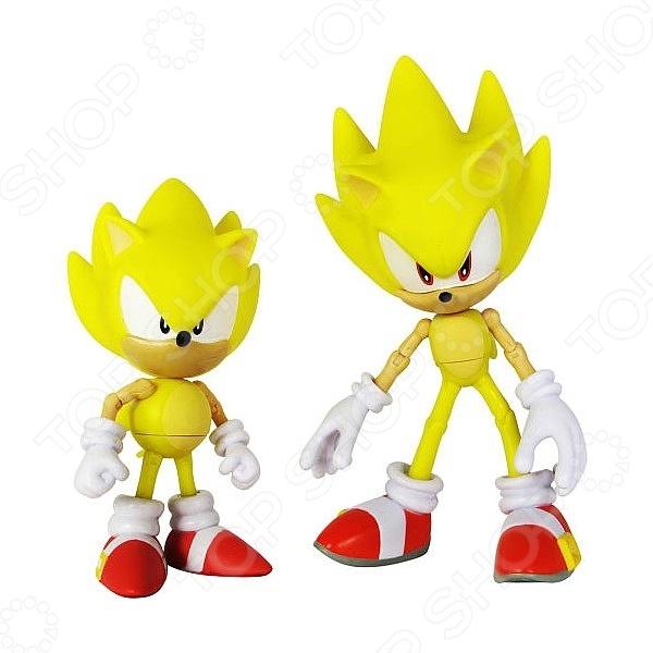 Набор игрушек-фигурок Sonic Супер Соник Таф Тайм taf toys taf toys 11615 таф тойс музыкальный развивающий мобиль