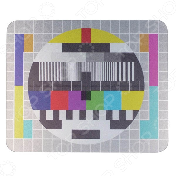 фото Коврик для мыши Kikkerland «Цветной круг», Коврики для мыши