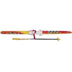 фото Комплект лыжный детский Larsen. Ростовка (длина лыжи): 130 см