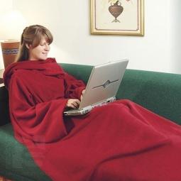 фото Одеяло с рукавами Bradex Уютная Зима