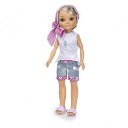 фото Кукла Famosa Нэнси «Русая в розовом платочке»
