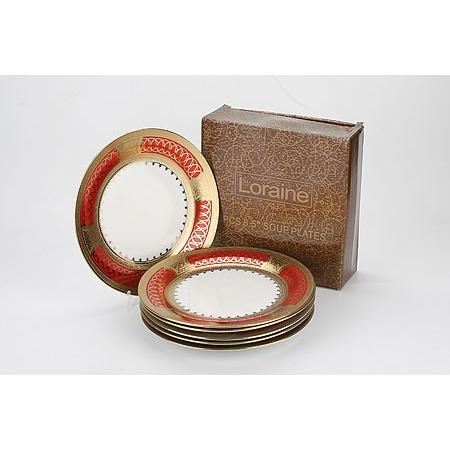 Купить Набор обеденных тарелок Loraine LR-4902