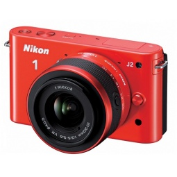 фото Фотокамера цифровая Nikon 1J2. Цвет: оранжевый