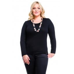 фото Кофта Mondigo XL 8504. Цвет: черный. Размер одежды: 52
