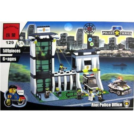 Купить Конструктор игровой Brick «Полицейский участок» 1717091
