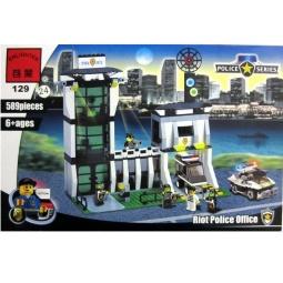 фото Конструктор игровой Brick «Полицейский участок» 1717091