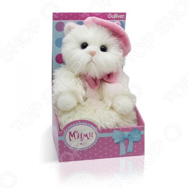 Мягкая игрушка Gulliver «Кошечка Мими в беретике»