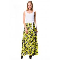 фото Платье Mondigo 6123. Цвет: желтый. Размер одежды: 46