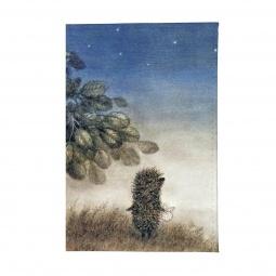 фото Обложка для паспорта Mitya Veselkov «Ежик ночью»