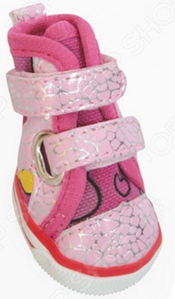 Обувь для собак DEZZIE «Пинк» обувь для собак dezzie шотландка