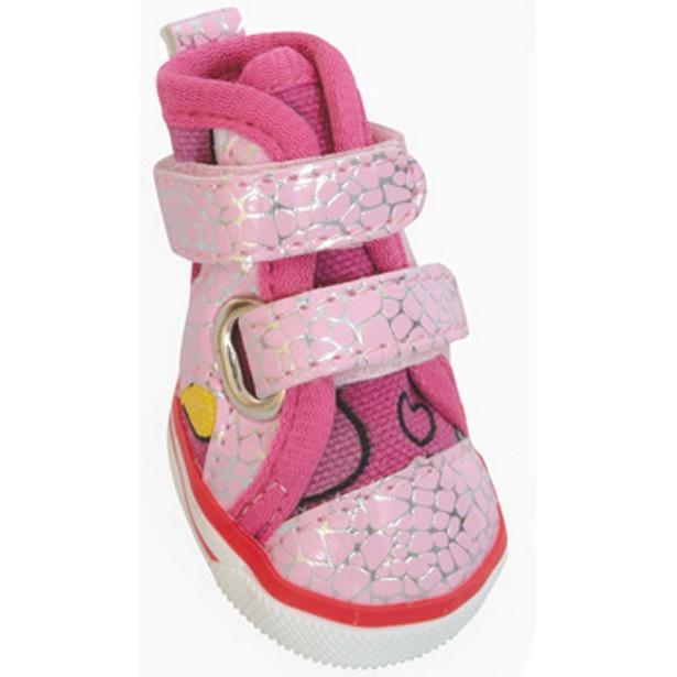 фото Обувь для собак DEZZIE «Пинк». Размер: 3 (5,5х4 см)