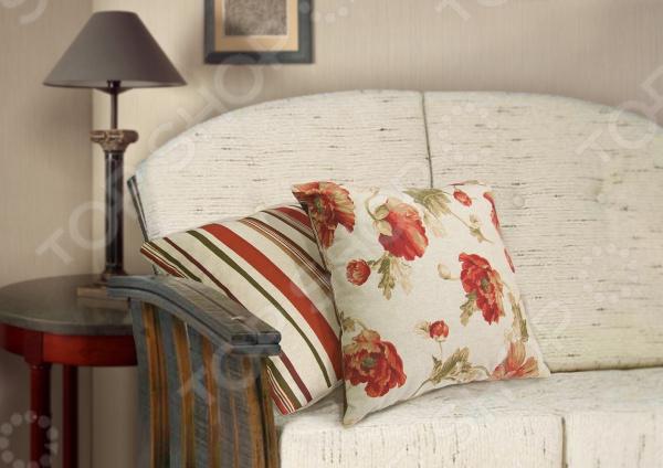 Подушка декоративная Kauffort Campina-SДекоративные подушки<br>Подушка декоративная Kauffort Campina-S это аксессуар, способный украсить и оживить интерьер любой комнаты. С ее помощью, вы сможете подчеркнуть общее стилистическое решение комнаты и грамотно расставить цветовые акценты. Дополните ваш диван или кровать этой подушкой, и привычная мебель станет еще уютнее, чем раньше. При этом такое изделие может стать хорошим подарком близкому человеку. Компактные размеры декоративной подушки позволяют использовать ее не только в помещении, но и брать с собой в дорогу. Какие преимущества у подушки Kauffort Campina-S  Поможет преобразить интерьер любого помещения.  Имеет стильный дизайн.  Наволочка снабжена молнией.  Может стать прекрасным подарком для дорогого вам человека. Чехол подушки выполнен из жаккарда и украшен изысканным узором. В качестве наполнителя выступает, скрепленный термостежкой холлофайбер. Этот нетканый материал широко применяется в производстве постельных принадлежностей т.к. обладает целым рядом прекрасных потребительских свойств:  После деформации быстро принимает первоначальный вид.  Не вызывает аллергию.  В нем не заводятся паразиты.  Не впитывает запахи.  Долговечен.<br>