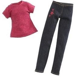 фото Набор одежды для игрушек Moxie в стиле джинс