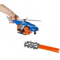 фото Набор игровой для мальчика Mattel CDK80 «Полиция: вертолет и машинка»