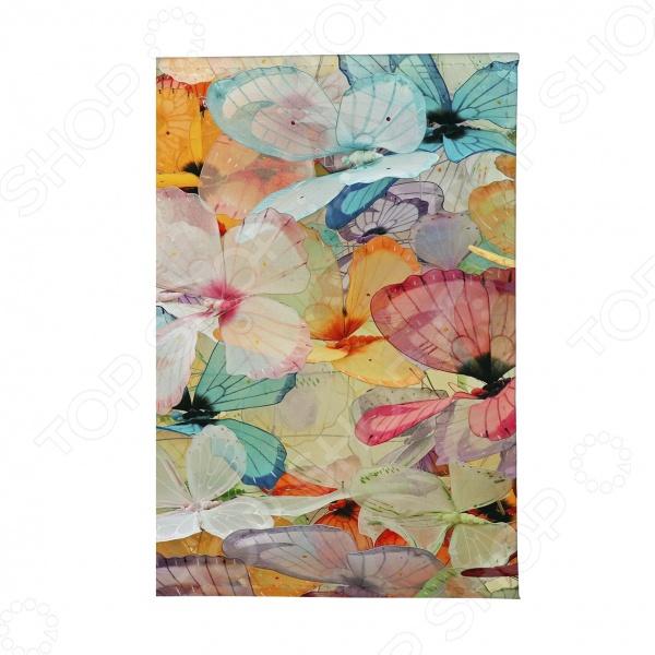 Обложка для автодокументов Mitya Veselkov «Цветные бабочки» цена и фото