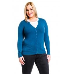 фото Жакет Mondigo XL 9786. Цвет: джинсовый. Размер одежды: 48