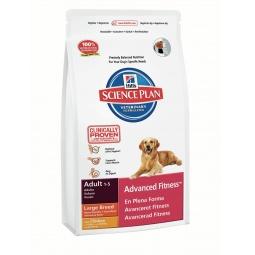 фото Корм сухой для собак крупных пород Hill's Science Plan Advanced Fitness с курицей. Вес упаковки: 12 кг