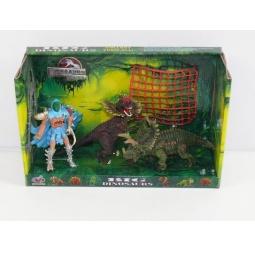фото Набор игровой для мальчика Shantou Gepai «Воин с динозаврами» Q9899-95A
