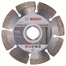 Купить Диск отрезной алмазный для угловых шлифмашин Bosch Professional for Concrete