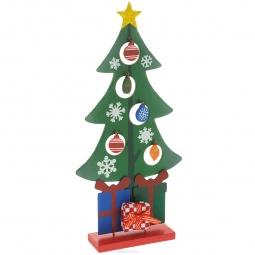 фото Ёлка новогодняя Феникс-Презент «Рождественская». Цвет: красный