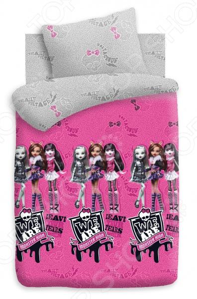 Куклы. Детский Детский комплект постельного белья Monster High Куклы