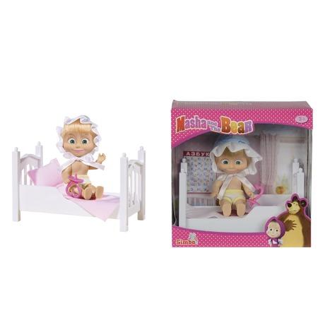 Купить Игровой набор Simba «Маша в кроватке» с аксессуарами