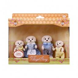 Купить Набор игрушечных животных Village Story «Семья собачек»