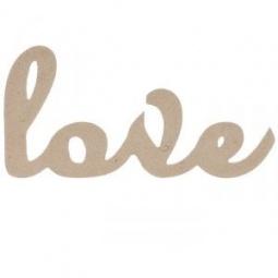 Купить Надпись для декупажа Кустарь «LOVE»