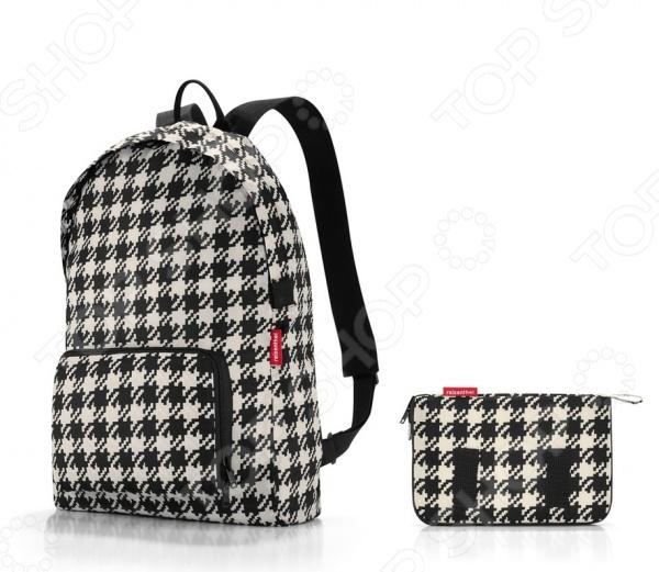 Рюкзак складной Reisenthel Mini maxi fiftiesРюкзаки<br>Рюкзак складной Reisenthel Mini maxi fifties - удивительная находка для любителей путешествий, частых походов по магазинам, долгих прогулок или простых, но стильных вещей. Удобный и стильный рюкзак может уместиться в маленький и компактный чехол, который можно хранить в любой женской сумочке. Рюкзак имеет складную конструкцию. Его легко сложить в собственный внешний карман. Вместительный рюкзак имеет две удобные широкие лямки, которые позволяют распределить вес равномерно. Изделие изготовлено из прочного и долговечного полиэстера, который надолго сохранит свой внешний вид. Яркий и привлекательный дизайн рюкзака придется по вкусу любой моднице.<br>