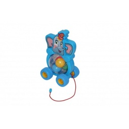 фото Каталка на веревочке для малыша Полесье «Слоненок» 54432
