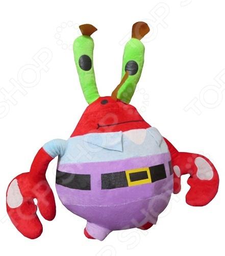 Мягкая игрушка Gulliver «Мистер Крабс» gulliver игр мягкая полярный мишка лежачий 30см
