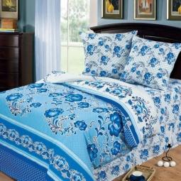 Купить Комплект постельного белья Любимый дом Гжель. 2-спальный