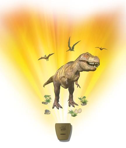 фото Интерактивный настенный проектор Uncle Milton «Экспедиция с динозаврами», Ночники
