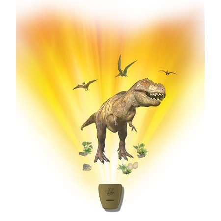 Купить Интерактивный настенный проектор Uncle Milton «Экспедиция с динозаврами»
