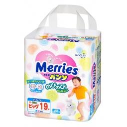 Купить Трусики-подгузники Merries размер XL 12-22 кг