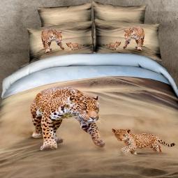 фото Комплект постельного белья с эффектом 3D Buenas Noches Family. Евро