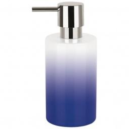 фото Диспенсер для жидкого мыла Spirella Tube Gradient. Цвет: синий