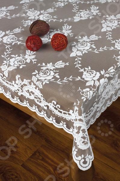 Скатерть Haft 214310Скатерти. Салфетки<br>Скатерть Haft 214310 это один из тех элементов, без которого не обойдется ни один праздничный или повседневный стол. Накрыв ею стол, вы сможете удивить гостей оригинальным сочетанием стиля, насыщенных красок и оригинальности. Материалом изготовления скатерти является 100 полиэстер, который обеспечивает высокую прочность, износостойкость, а также на протяжении длительного времени сохраняет свою структуру не выгорая на солнце и не деформируясь после стирки. Кроме того, этот материал почти не пачкается, не впитывает в себя запахи и очень быстро сохнет после стирки. Постелив на стол скатерть, вы подарите себе и своим гостям праздничное настроение, а также, сможете сделать любое торжество намного изысканнее, придав праздничному столу индивидуальности.<br>