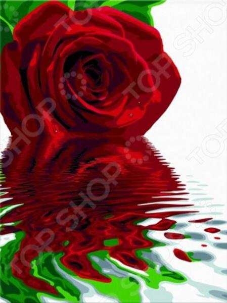 Набор для рисования по номерам Schipper «Отражение розы»