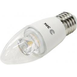 фото Лампа светодиодная Эра B35 Clear. Цоколь: E27. Цветовая температура: 2700К