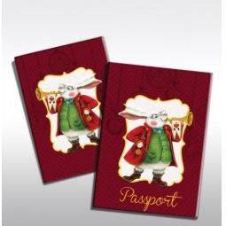 фото Обложка для паспорта Феникс-Презент «Кролик»