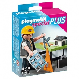 фото Набор фигурок к игровому конструктору Playmobil «Дополнения: Архитектор с кульманом»