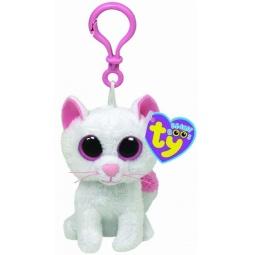 фото Мягкая игрушка с клипсой TY Кошка CASHMERE. Высота: 12,5 см