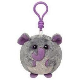 фото Мягкая игрушка с клипсой TY Слон THUNDER. Высота: 12,5 см