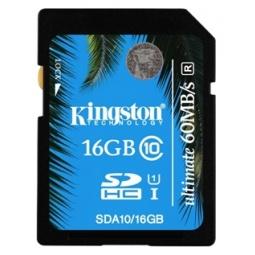 Купить Карта памяти Kingston SDA10/16GB