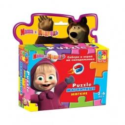 фото Пазл магнитный фигурный Vladi Toys «Маша» 291062