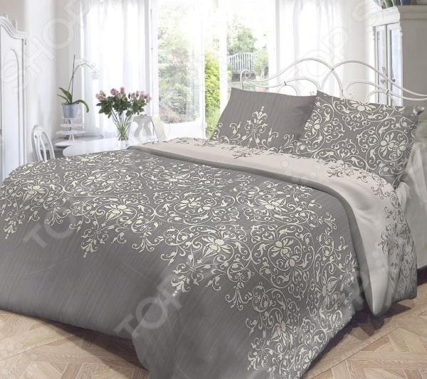 Комплект постельного белья Нежность «Виолетта». 1,5-спальный1,5-спальные<br>Комплект постельного белья Нежность Виолетта это сочетание прекрасного качества и стильного современного дизайна. Он внесет яркий акцент в интерьер вашей спальной комнаты, добавит ей элегантности и изысканности. В набор входит пододеяльник, простынь и две наволочки. Постельное белье выполнено из высококачественной бязи и украшено оригинальным цветочным принтом. Бязь представляет собой плотную хлопчатобумажную ткань полотняного переплетения. Она отлично зарекомендовала себя в пошиве постельного белья, благодаря своей воздухопроницаемости, легкости и устойчивости к истиранию. Ткани и готовые изделия производятся на современном импортном оборудовании и отвечают европейским стандартам качества. Рекомендуется стирать белье в деликатном режиме без использования агрессивных моющих средств.<br>